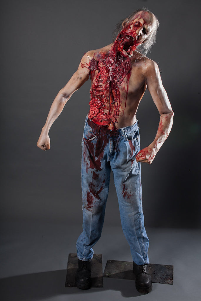 Jawless Zombie Martin Character
