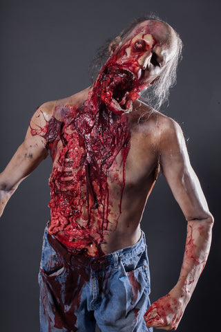 jawless zombie martin character - Zombie Props