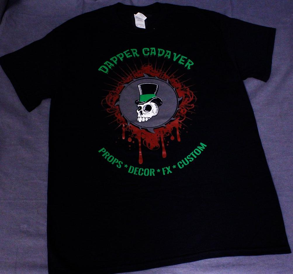 Dapper Cadaver Logo Men's T-Shirt