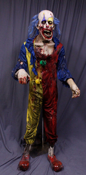 scary clowns halloween haunted house props dapper cadaver props