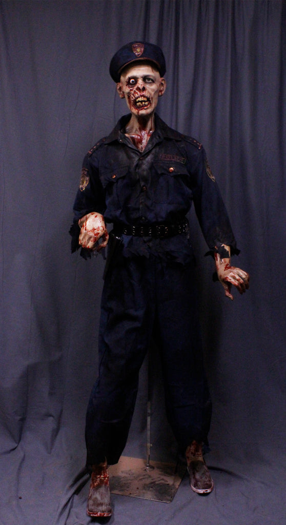 Officer Iggy Zombie Figure
