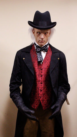 Steampunk Doctor Silicone Figure Rental