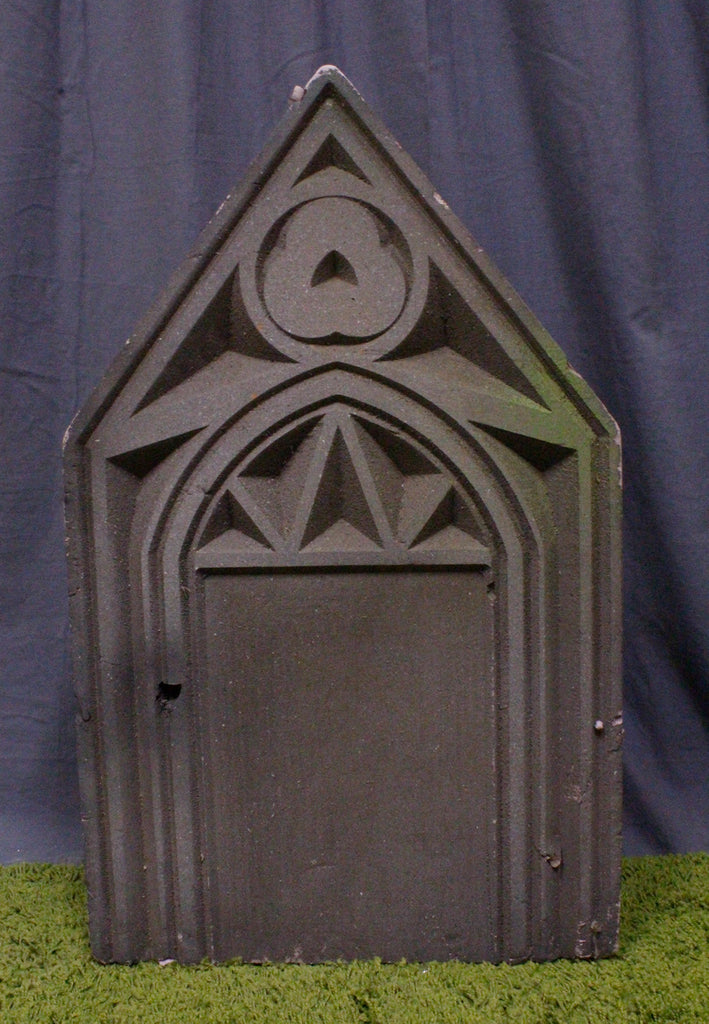 Deco Pointed Headstone Rental