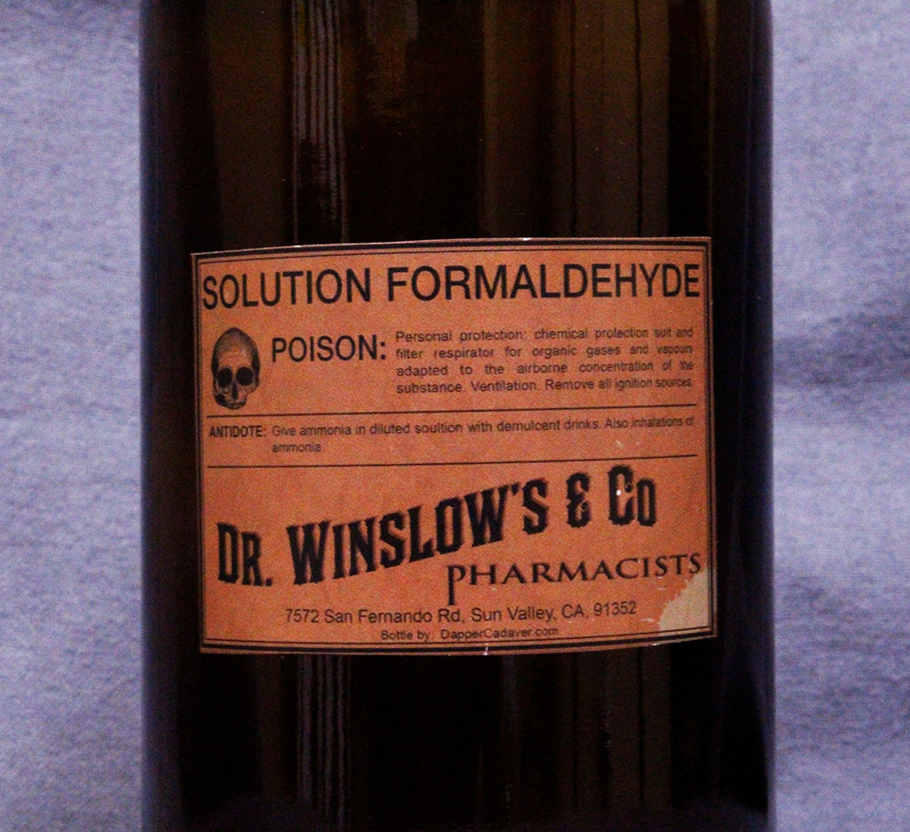 Vintage Formaldehyde Bottle