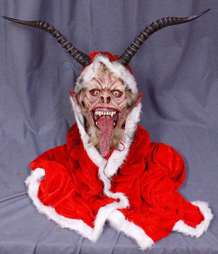 Christmas Krampus Wrath Head