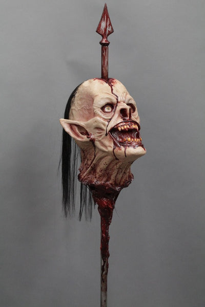Wrath Head On A Spike Prop Dapper Cadaver Props