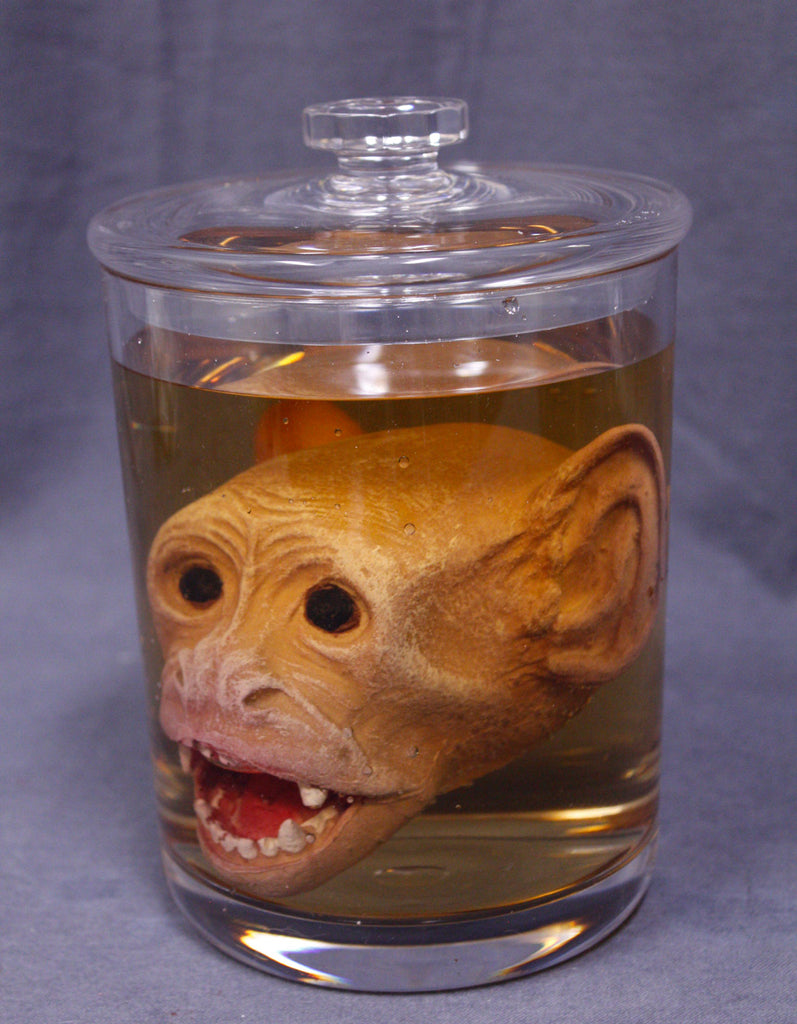 Monkey Head Apothecary Specimen Jar