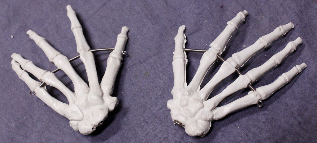 Skeleton Hands Pair