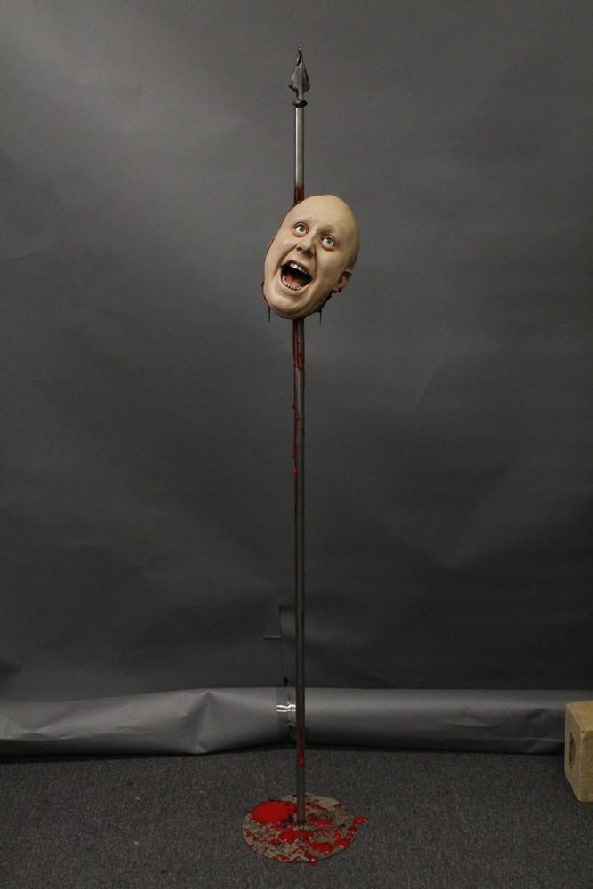 Olly Head Impaled on a 5ft Spike