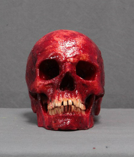 meat skull hera - Gory Halloween Decorations