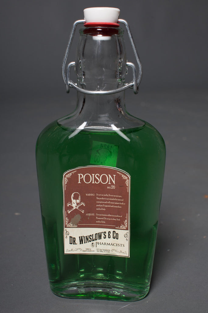 Vintage Poison Bottle