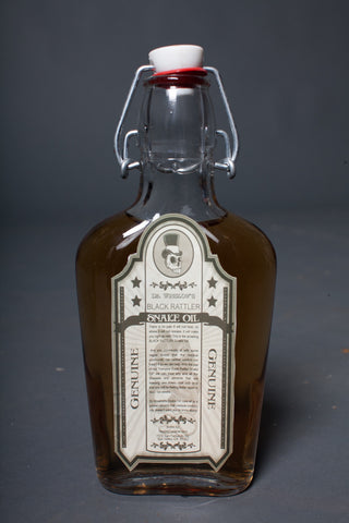 Vintage Snake Oil Bottle