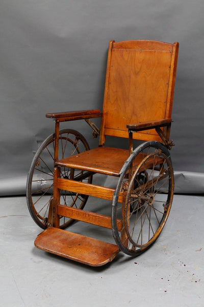 Vintage Wooden Wheel Chair Rental