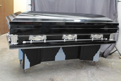 Deco Folding Casket Stand Rental