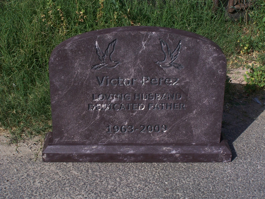 Victor Perez Wide Headstone Rental