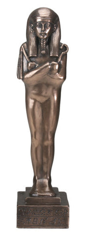 Bronze Figure of Pharaoh Shabti