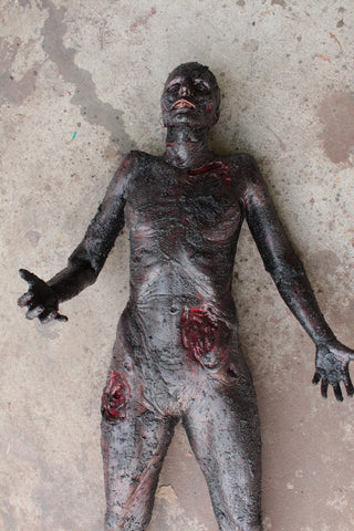 Burn Luttra Cadaver Body
