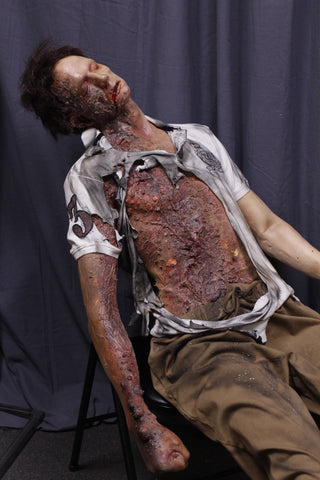 Burnt Alan Half Anatomical Dummy