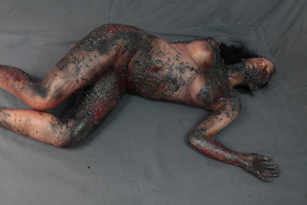 Burnt Sonia Cadaver Body