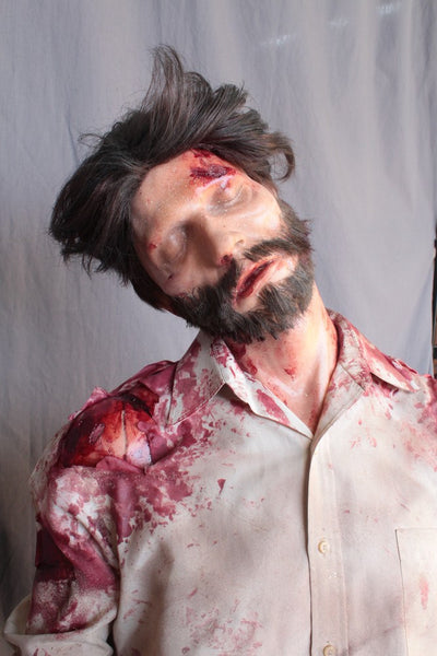 Wounded Alan with Beard