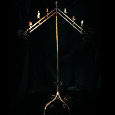 Flying V Candelabra Rental