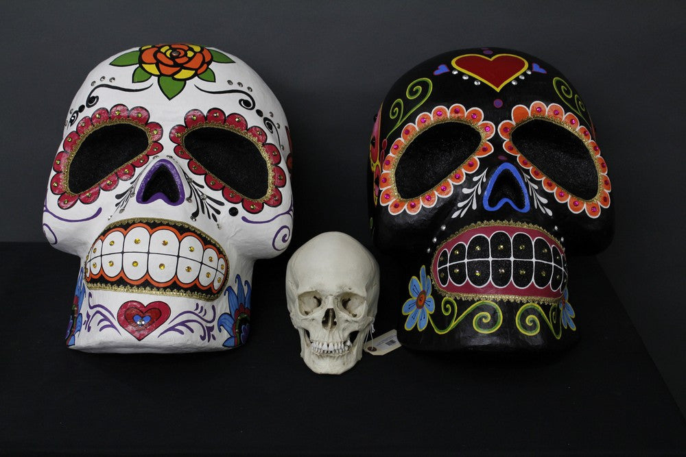 Giant Sugar Skull Pair Rental