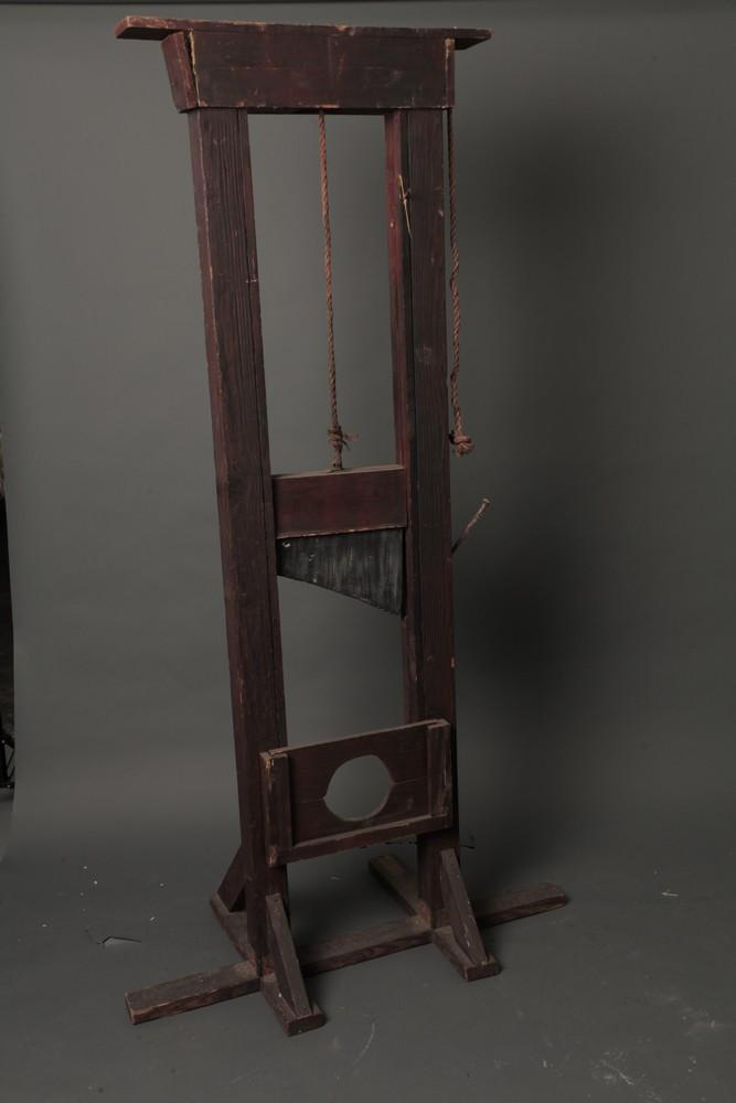 8 Ft Tall Guillotine Item