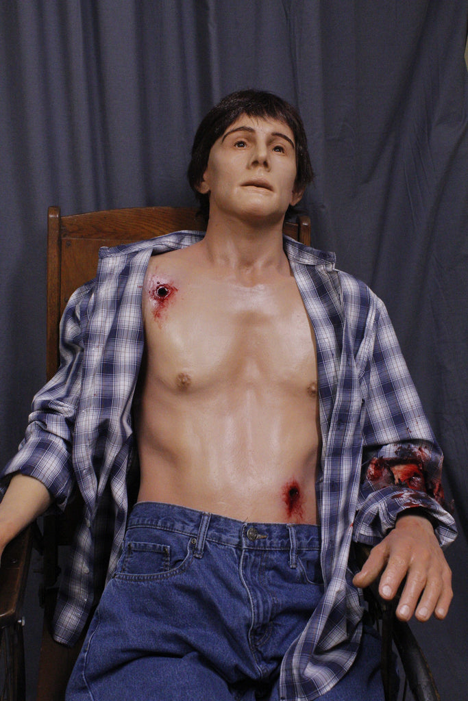 Dura Gunshot Joe Half Anatomical Dummy
