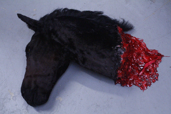 Severed Horse Head Prop - Special Order