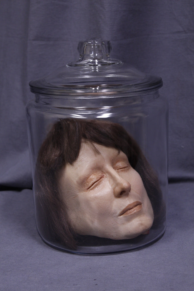 Judith Head in a Jar
