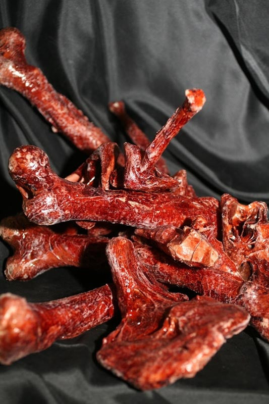 10 Pcs Assorted Meat Bones and Mutilation Chunks - Stock