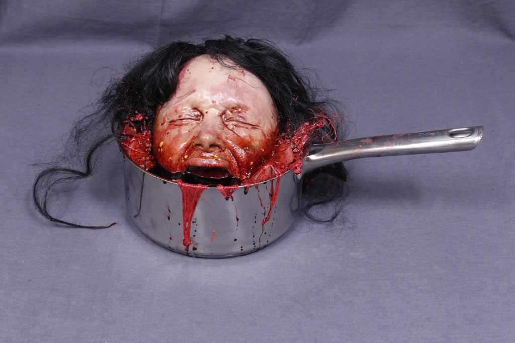 Boiled Agatha Head in Pot