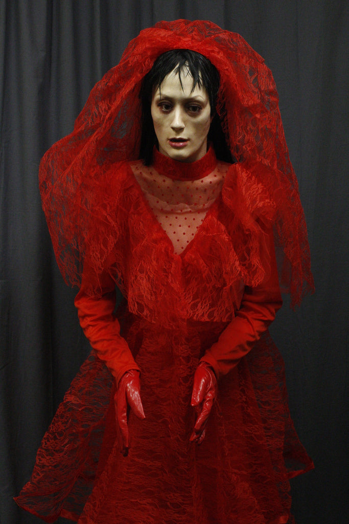 Red Bride Prop