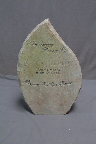 Teardrop Headstone Rental