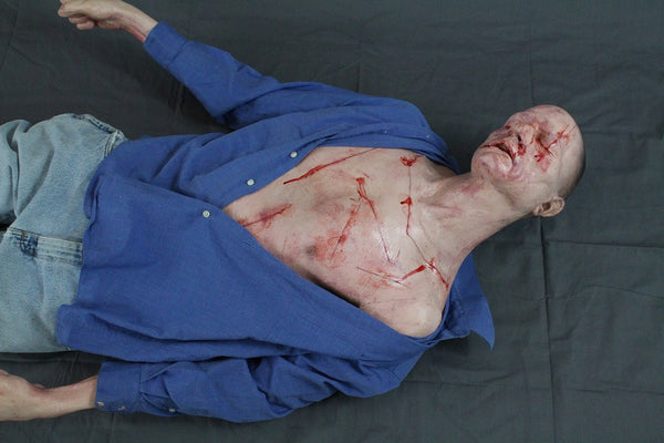 Slashed Alan Half Anatomical Dummy