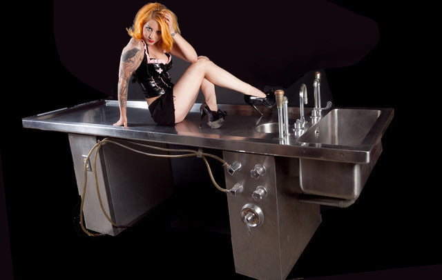 Stainless Steel Autopsy Table Rental