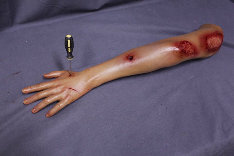 Types of Wounds Dura Yong Arm