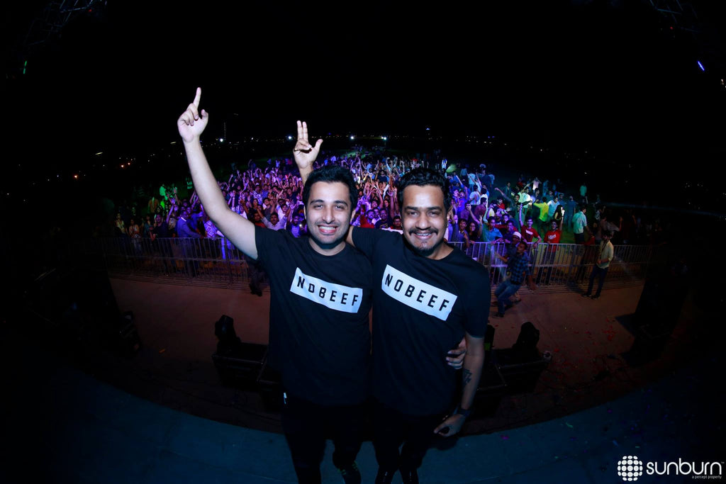 Sound Avtar with Aztek x Fighting Fame No Beef at Sunburn Campus Ahmedabad.
