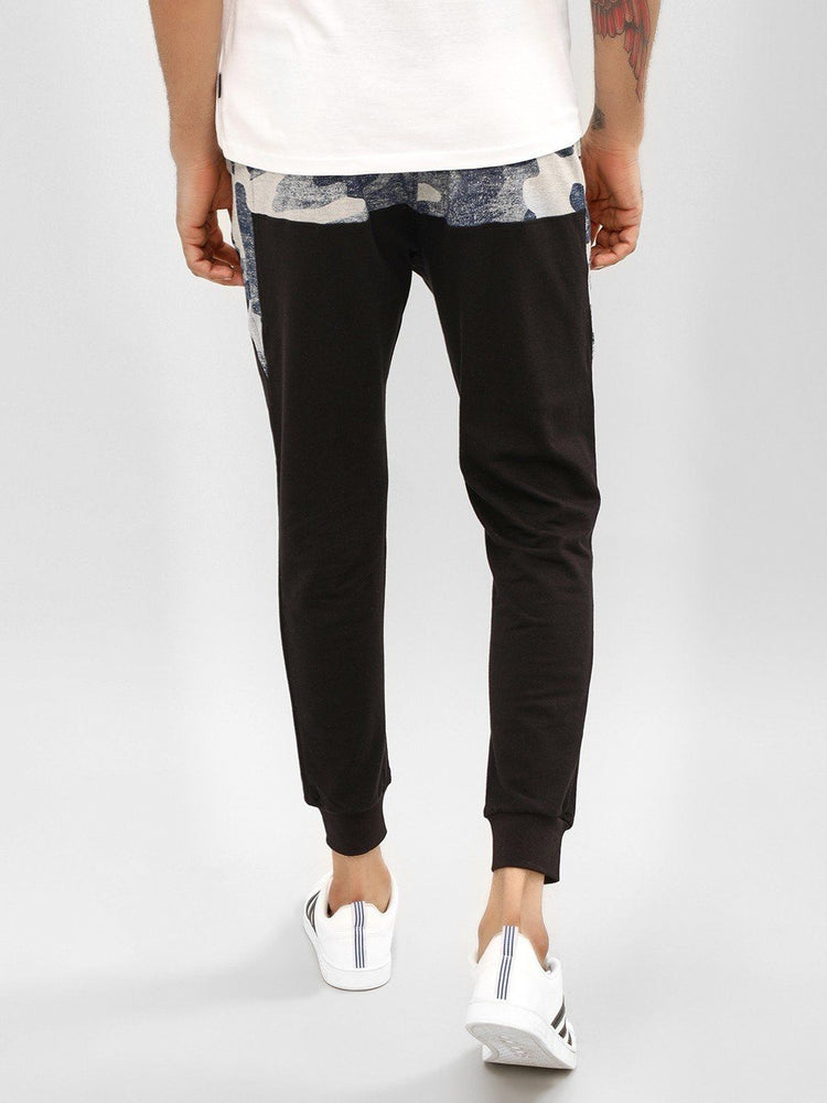 Navy Blue Camo Top Joggers