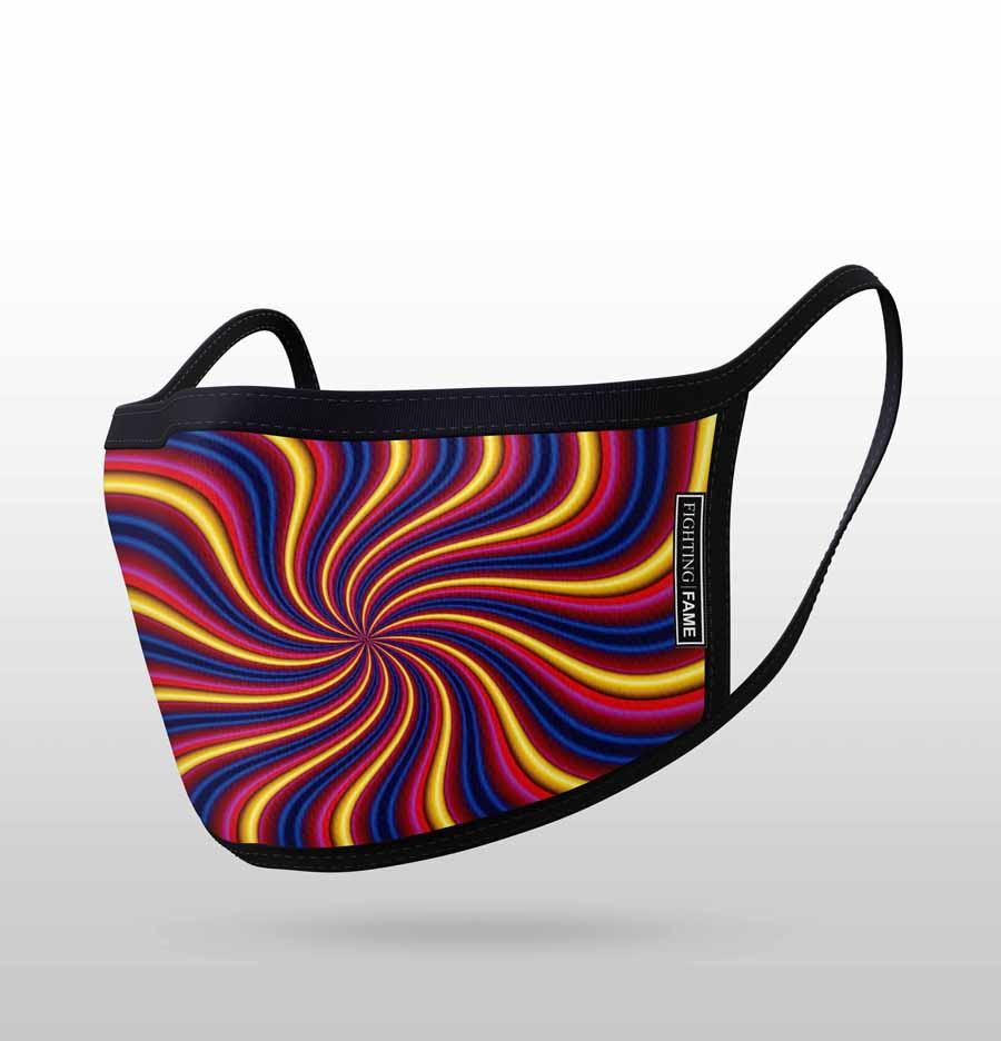 RADIAL PSYCHEDELIC MASK