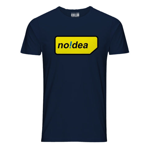 No Idea Navy Blue T-Shirt