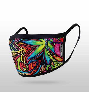GRAFFITI PRINT MASK