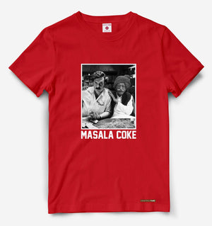 Masala Coke Red Tee