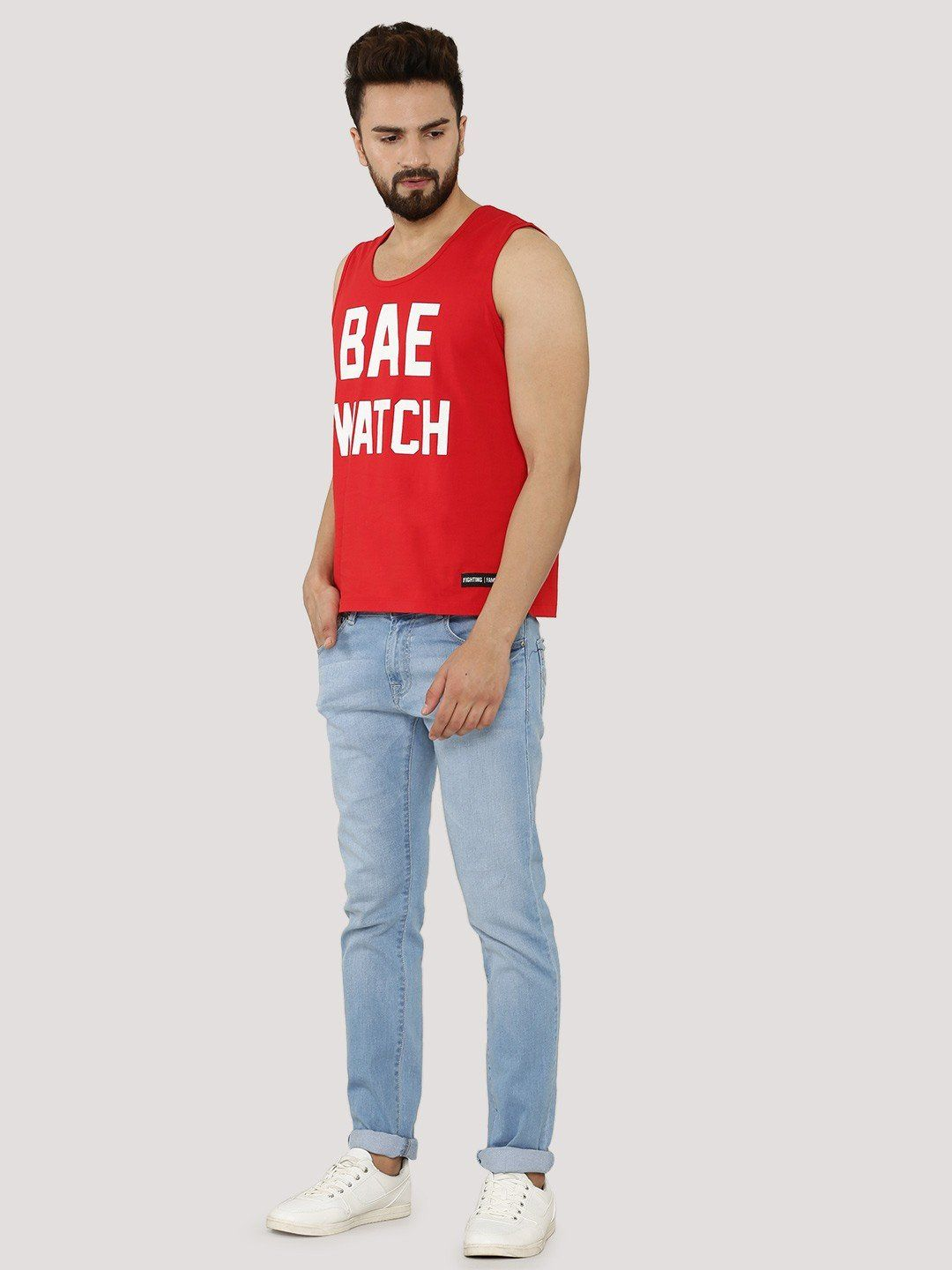 BAE WATCH Red Vest - Fighting Fame  - 4