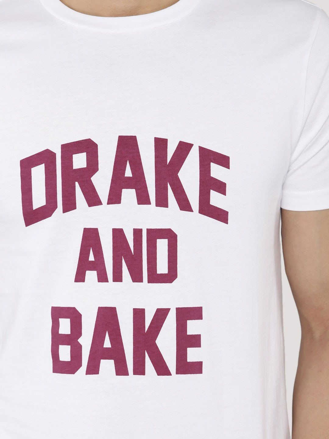 Drake And Bake White T-Shirt - Fighting Fame  - 4