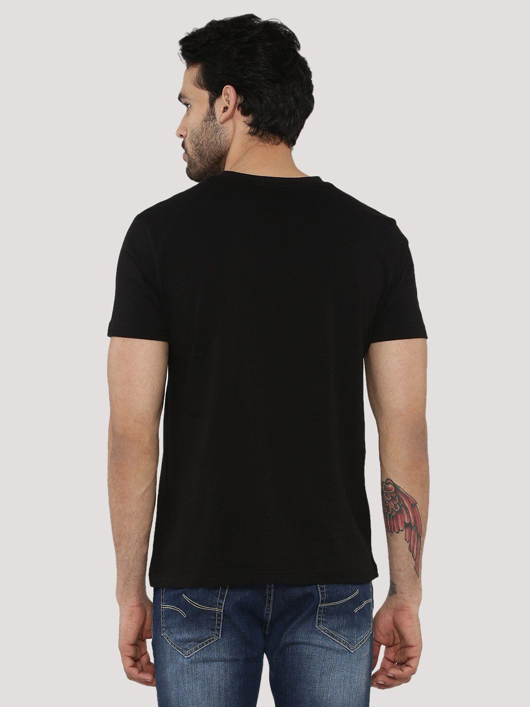 Narcos And Tacos Black T-Shirt - Fighting Fame  - 3