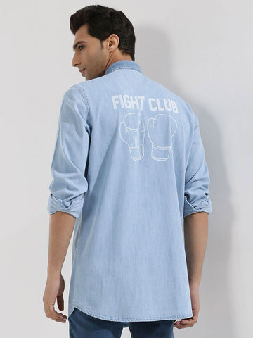 Fight Club Denim Shirt