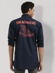 Sneakerhead Back Print Shirt