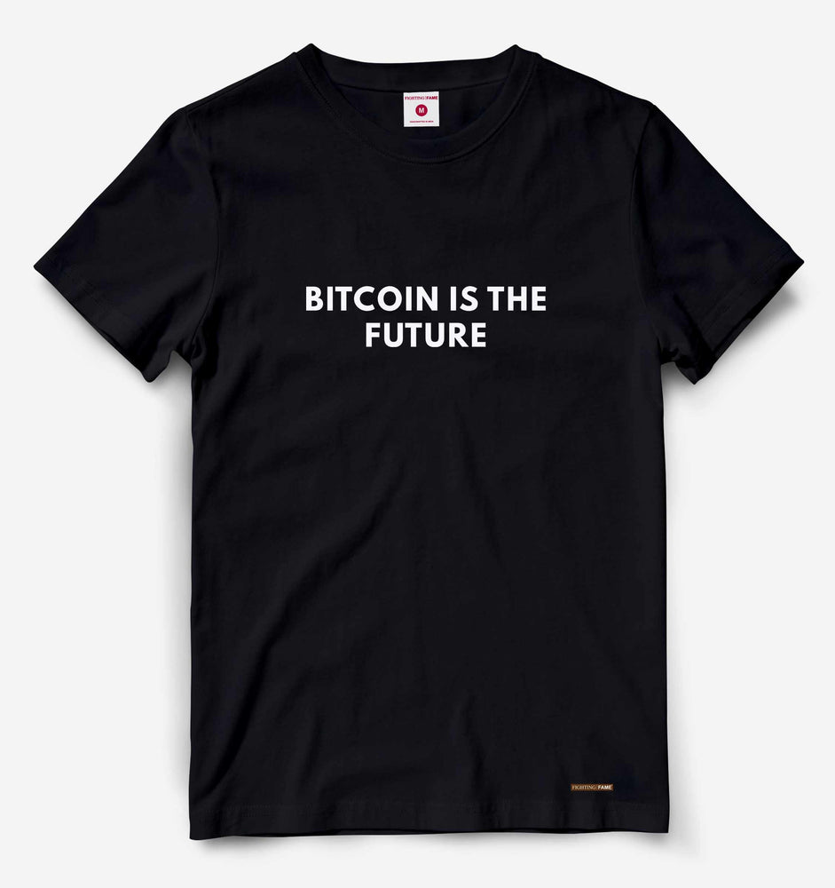 Bitcoin Is The Future Black Tee
