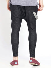 Charcoal Single Suspender Joggers